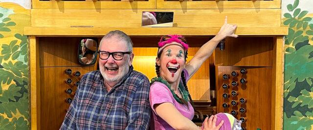 Familjekonsert med Clownen Hjördis